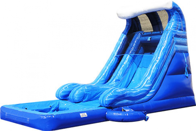 18' Tidal Wave Slide w/Pool